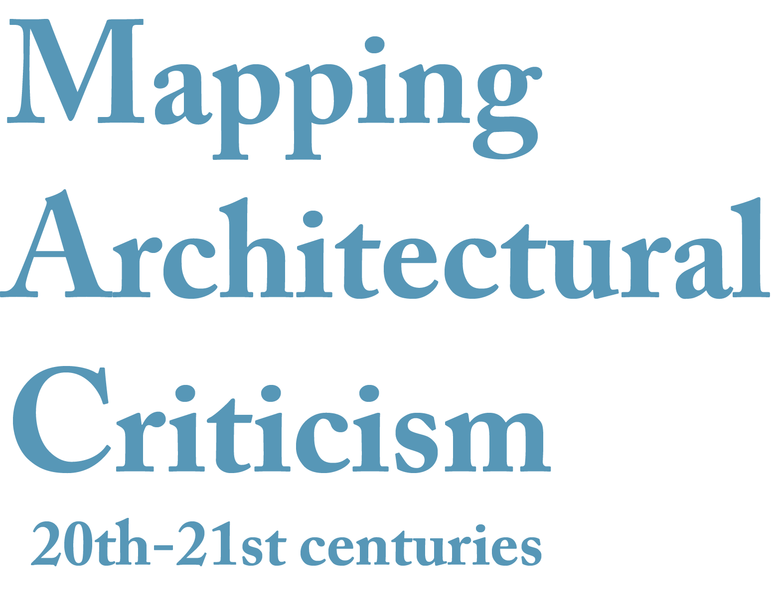 essays in architectural criticism